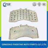 Wva29227 Wholesales Truck Brake Pad Cast Iron Backing Plate