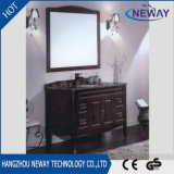 New Floor Standing Solid Wood Antique Hotel Bathroom Furniture