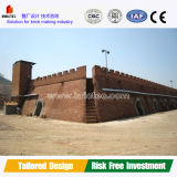 Most Energy Efficient Hoffman Kiln for Firing Clay Bricks Brick Block Machines