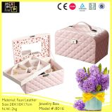Girl′s Favor Pink Jewelry Carrying Case (8016)