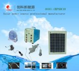 10W Hot-Selling Solar Lighting System with Mobile Charger