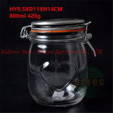 800ml Glass Food Jar Seal Glass Container with Lid