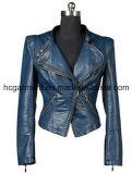 Fashion Punk PU Jackets for Lady/Women, Leather Coats