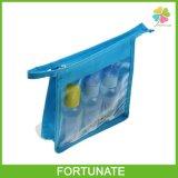 Travel Promotional Custom Clear PVC Vinal Cosmetic Toiletry Makeup Woman Bag