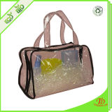 Clear Plastic PVC Zipper Handbag Shopping Bag