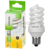 Eco T3, T4 9W, 11W, 15W, 20W, 25W, 30W Full Spiral Compact Fluorescent Light