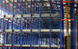 Radio Shuttle Racking System for Cold Store