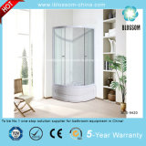 New Style Clear Glass Simple Shower Cabin Shower Cubicle (BLS-9420)