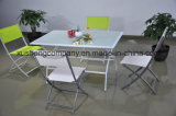 5 Pieces of Folding Table and Chair Package