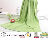 Top Grade Solid Color Satin Series Plain Weaving 100% Bamboo Towels for Bath Df-3188