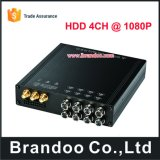 4CH 1080P HDD Car DVR, Support 4G and Wif Funciton