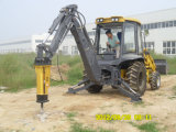 Backhoe Loader with Hammer