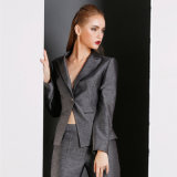 High Quality Formal Ladies Balck Business Suits Blazer