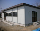 Quick Easy Assembly Rockwool Sandwich Panel Prefabricated House