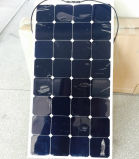 China PV Supplier 100W 18V Semi Flexible Solar Panel Amorphous Pet