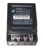 Single Phase Electronic Kwh Meter in Metal Case