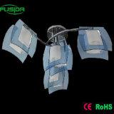 Unique Design in Blue Glass Pendant Lights (X-9106/3+1)