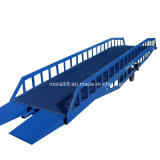 Hydraulic Mobile Unloading Ramps for Warehouse