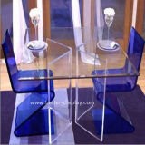 Acrylic Organic Glass Dining Table Btr-Q1001
