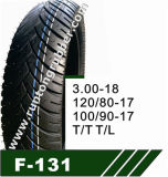 Motorcycle Tire 120/80-17 120/90-18
