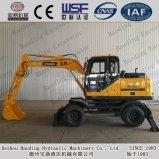 Baoding Good Use Wheel Excavators 8.5ton/ 0.3cbm Bucket