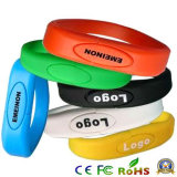 4GB Gift Silicon Wristband USB Flash Drive, USB Disk Pen Drive, USB Flash Memory