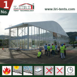50m Huge Arch Top Tent Hall with 8m Side Height
