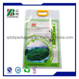 Flexible Packaging Hand Bag for Rice Packing
