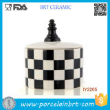 Decent Storage Bottle Ceramic Chess Set Jar
