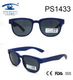Japanese Brand Blue Kid Plastic Sunglasses (PS1433)