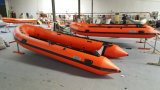 4.7m 15.4FT Canto Inflatable Boat for Rescue and Sports or Fight a Floodopt Aliminum Floor Plywood or Air Deck with Ce Cert. for Hot Sale