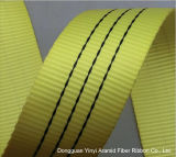 10cm Yellow Polyester Lifting Webbing Belt