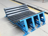 Heavy-Duty Impact Bed/ Buffer Bed with Rubber Bar for Belt Conveyor