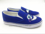 Latest Low Cut Slip on Women Shoes with Printed Cartoon (ET-OW160118W)