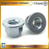 DIN6926 Galvanized Flange Nylon Insert Lock Nuts