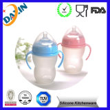 FDA 250ml Silicone Baby Milk Bottle