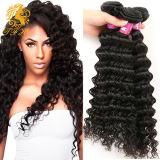 Malaysian Virgin Hair Deep Wave 3 Bundles Deals Wet and Wavy 7A Human Hair Deepwave Cheap Malaysian Deep Curly Virgin Hair Weave