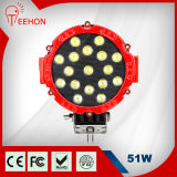 High Quality Bright 51W LED Work Light CREE LED Working Light for ATV SUV