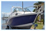 19FT Europe Design Blue Painting Aluminum Fishing Boat