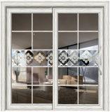 Aluminium Interior Sliding Door with Grills Inside