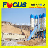 60m3/H, 90m3/H, 120m3/H, 180m3/H Centrale a Beton, Concrete Batching/Mixing Plant with Belt Conveyor