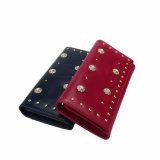 Soft Genuine Leather Wallet Fashion Women Wallet (SR-201411)