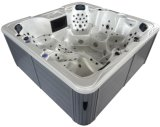 Freestanding Water Jet Massage Outdoor SPA with 2 Lounge
