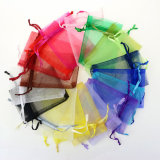Stock Jewelry Packing Drawstring Organza Bag