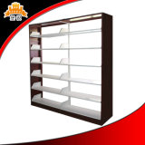 Double Side Six Layers Steel Library Bookshelf