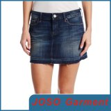 Girl Denim Destroyed Mini Skirt (JC2020)