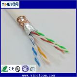 FTP Cat5e LSZH Networking Cable /CAT6 23AWG 4pairs Double Shielded LAN Cable