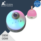 Durable Color Changing Night Light Projection Music Alarm Clock