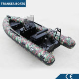 2017 Most Popular Camouflage Inflatable Rib Boat