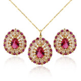 Popular Gold Plated Brazilian Perfect Jewelry Set Designers in China